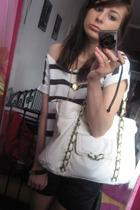 white Primark purse - white