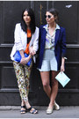 Floral-m-s-pants-navy-zara-blazer-blue-zara-bag-aquamarine-zara-shorts