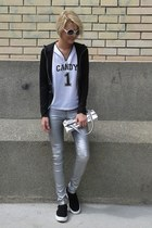 Aldo shoes - rang jacket - Accessorize sunglasses - Koton t-shirt - Amisu pants