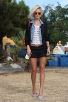 Amisu shirt - Aldo bag - Tally Weijl shorts - Graceland loafers