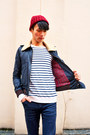 Dark-gray-cheap-monday-jeans-dark-gray-april-77-jacket-white-h-m-jumper