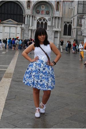 H&M skirt - vintage shoes -