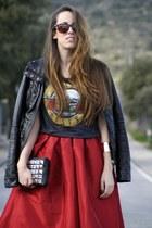 Choies skirt - OASAP bracelet