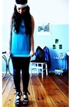Mango top - pieces leggings - H&M accessories - Mango shoes