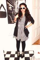H&M shoes - H&M blazer - H&M dress - H&M accessories