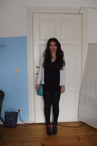 pieces leggings - Mango jacket - H&M shoes - asos accessories
