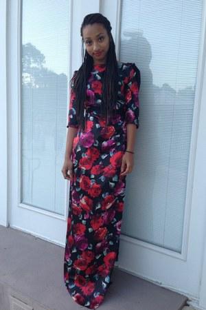 floral my DIY dress
