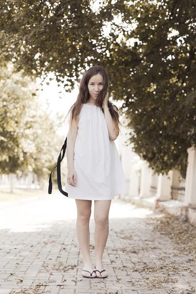 cotton tvoe dress - no name sandals