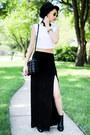 Zara-boots-forever-21-hat-zara-bag-forever-21-skirt-forever-21-top