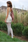 Off-white-deena-ozzy-shoes-ivory-kimchi-blue-dress-peach-h-m-blazer