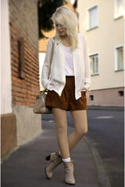 Primark shorts - Zara shoes - Zara blouse
