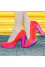 Carrot-orange-isabella-anselmi-shoes-90s-vintage-scarf