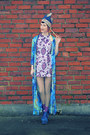 Violet-1960s-kings-emporium-vintage-dress-aquamarine-most-wanted-vintage-coat