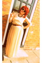 maxi dress TK Maxx dress - vintage sunglasses