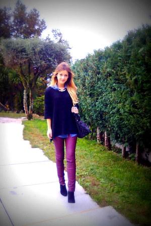 Primark sweater - Primark pants - Primark heels