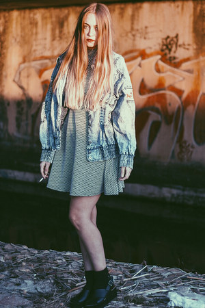 denim jacket vintage jacket - Mr Price dress