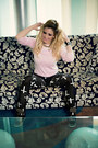 Light-pink-baby-pink-versace-sweater-black-thehutcom-leggings