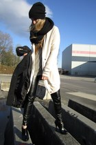 wilfred coat - wilfred sweater - JAMES leggings - All Saints shirt - H&M scarf -