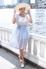 White-thomas-munz-shoes-eggshell-noname-hat-light-blue-noname-skirt