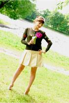 Moschino sweater - Frankie Morello skirt