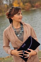 Glance cardigan - Thomas Munz bag - Glance top - Glance necklace