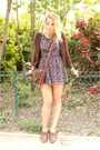 Brown-zara-jacket-topshop-dress-brown-new-look-shoes-brown-urban-outfitter