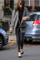 Glamorous coat - Guess jeans - Gucci bag - Giuseppe Zanotti heels
