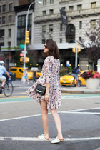 Mango dress - Jimmy Choo bag - Birkenstock sandals