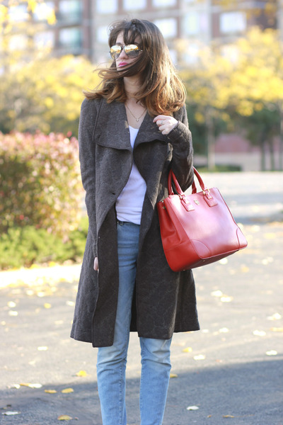 Luxury Rebel shoes - Zara jeans - tory burch bag - ray-ban sunglasses