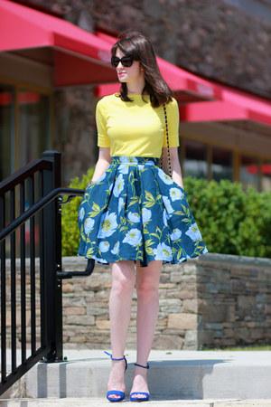 French Connection UK skirt - Zara shoes - Ralph Lauren top