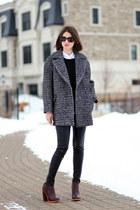 SANDRO coat - vince pants