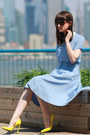 French-connection-skirt-gucci-pumps-french-connection-top