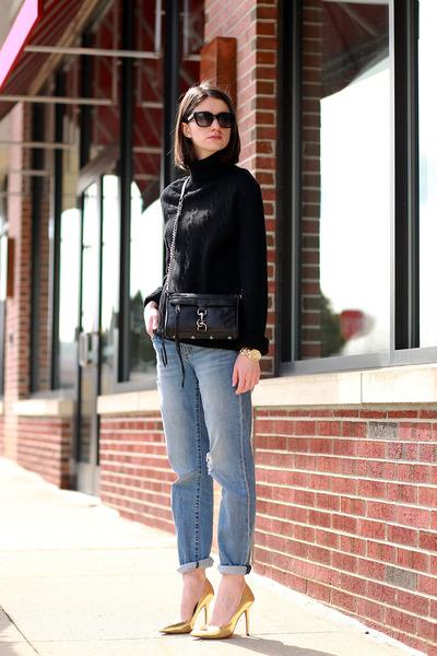 Rebecca Minkoff bag - Ray Ban sunglasses - Boutique 9 pumps