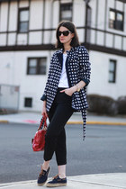 banana republic coat - tory burch bag - Marc Jacobs bag