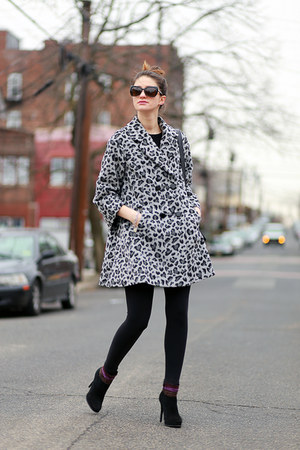 Anthropologie coat - Diane Von Furstenberg shoes