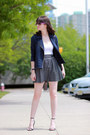 C-wonder-jacket-ray-ban-sunglasses-aqua-skirt-zara-heels