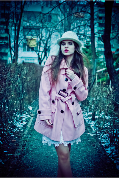 jacket - dress - hat