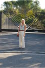 White-vintage-pants-white-urban-outfitters-top-brown-zara-belt-silver-aldo
