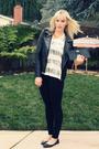 Black-urban-outfitters-jacket-white-young-fabulous-broke-t-shirt-black-joe