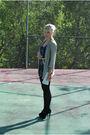 Gold-h-m-blazer-black-minkpink-dress-black-aldo-shoes-white-vintage-access