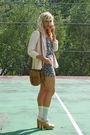 Brown-h-m-top-beige-steve-madden-shoes-pink-forever-21-blazer