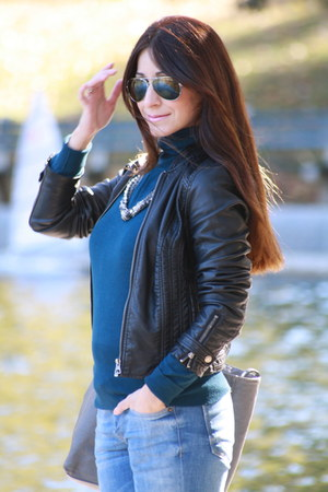 Nine West boots - Zara jeans - Zara jacket