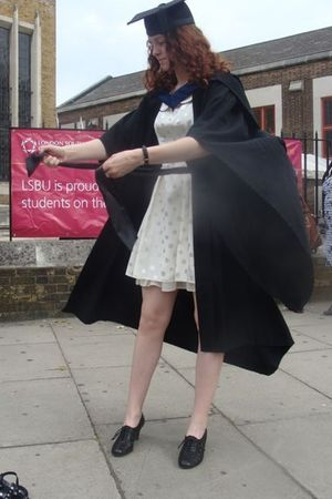 white Miss Selfridge dress - black shoes - silver earrings - black Graduation dr