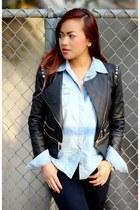 moto jacket Forever 21 jacket