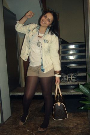 H&M accessories - Zara jacket - H&M necklace - BLANCO shoes - Zara t-shirt - BLA