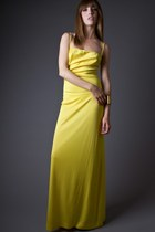 SALE 40% OFF! Vintage Lemon Yellow Maxi Dress