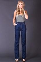 telltale hearts vintage jeans