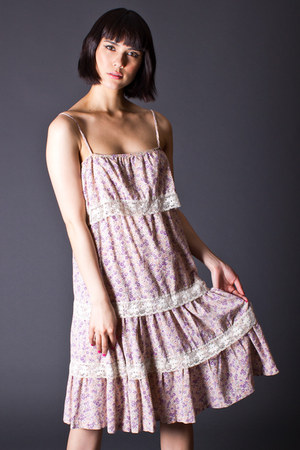 telltale hearts vintage dress
