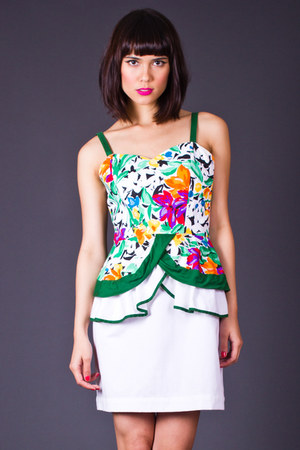 telltale hearts vintage dress