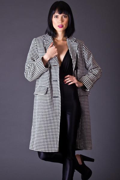 telltale hearts vintage coat